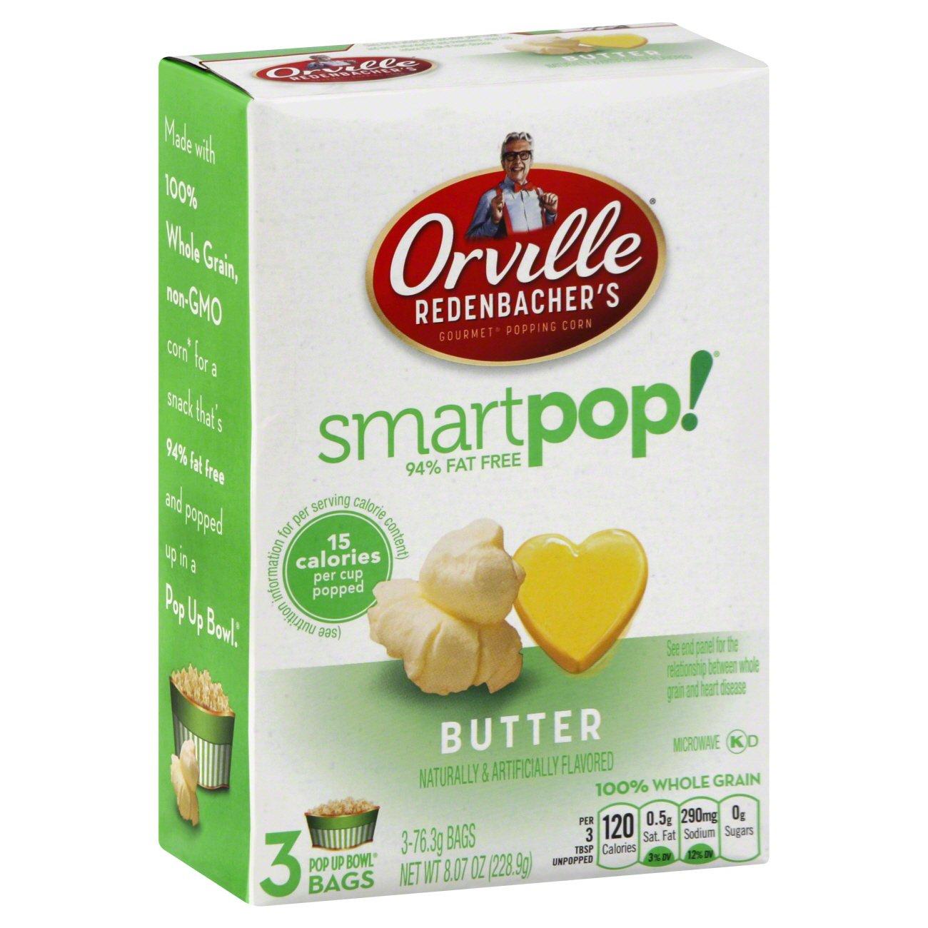 Smart Pop! 94% Fat Free Butter Gourmet