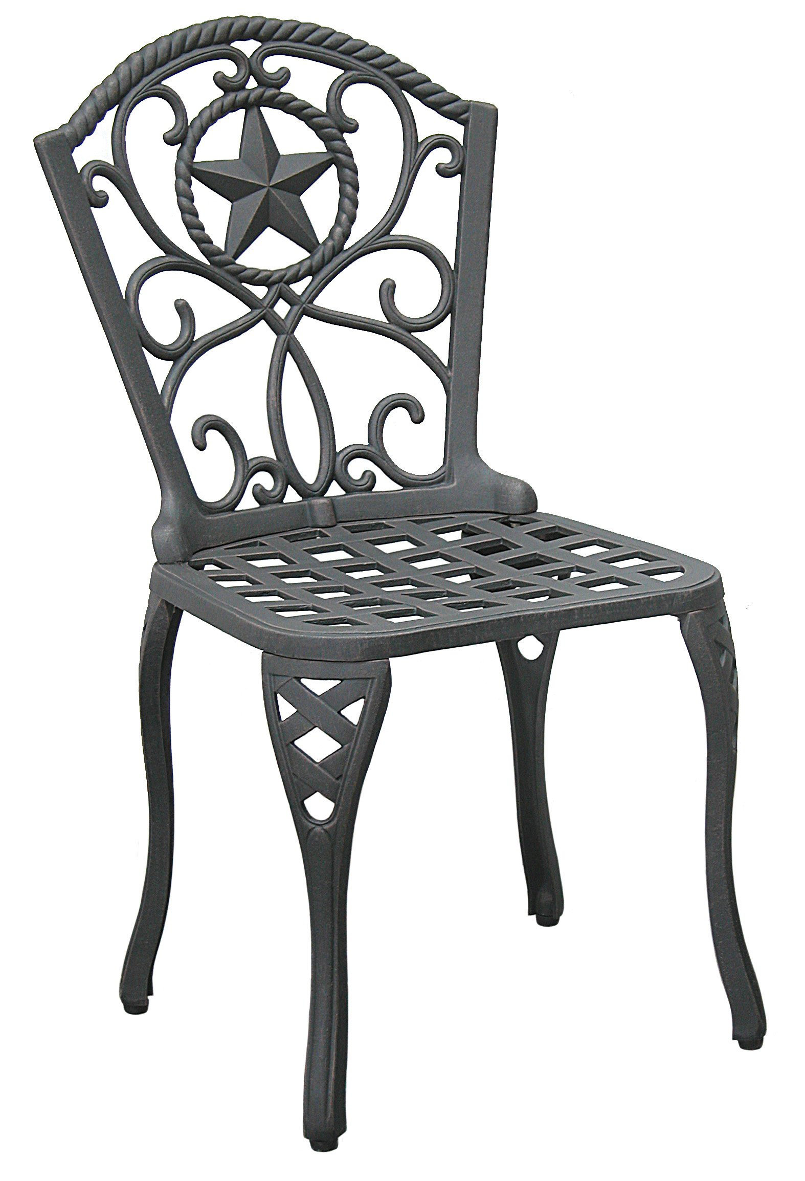Riata Texas Backyard Small Dining Chair Shop Furniture at HEB