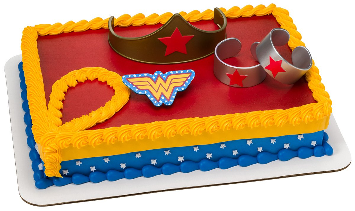 Wonder Woman Strength Power Cake
