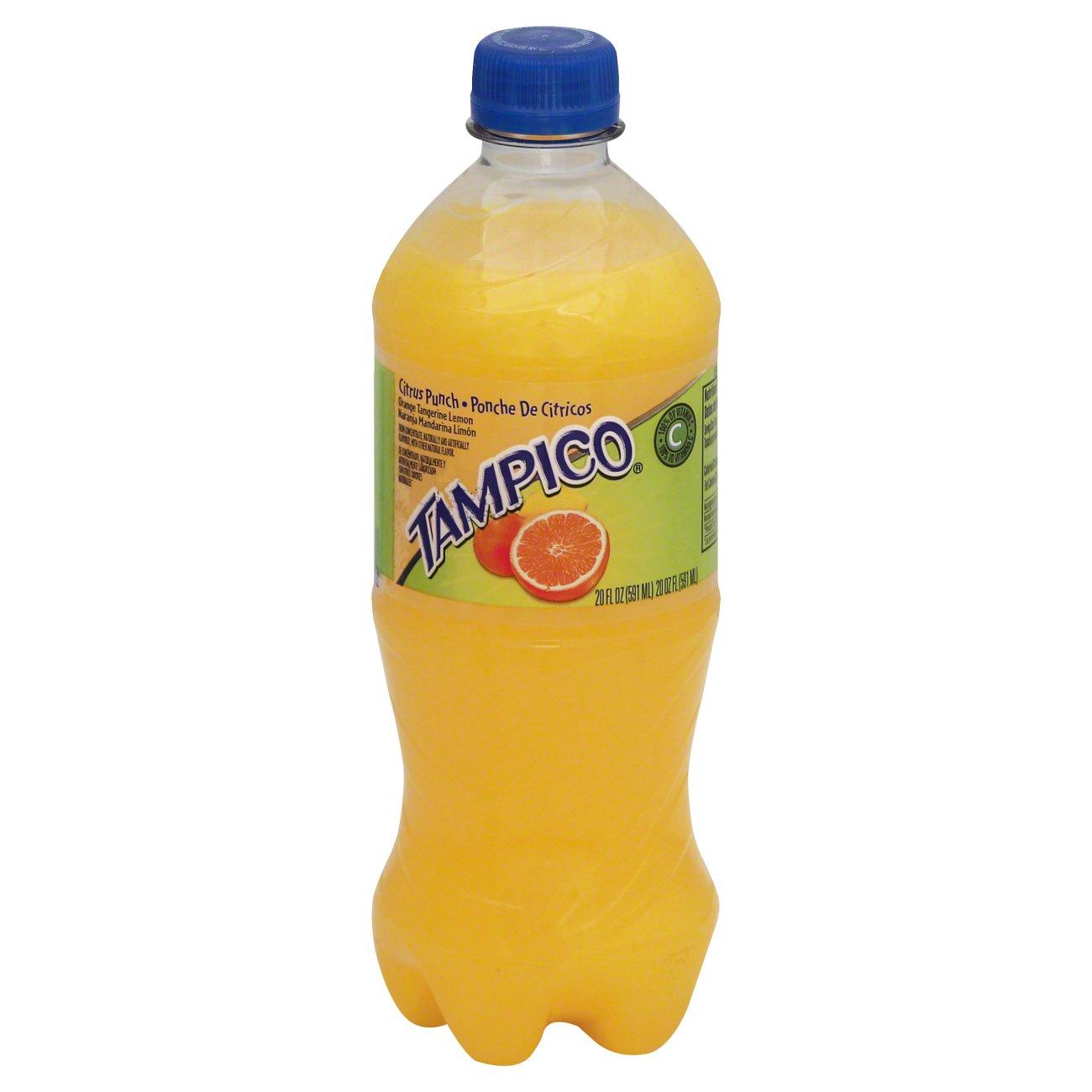Tampico Orange Tangerine Lemon Citrus