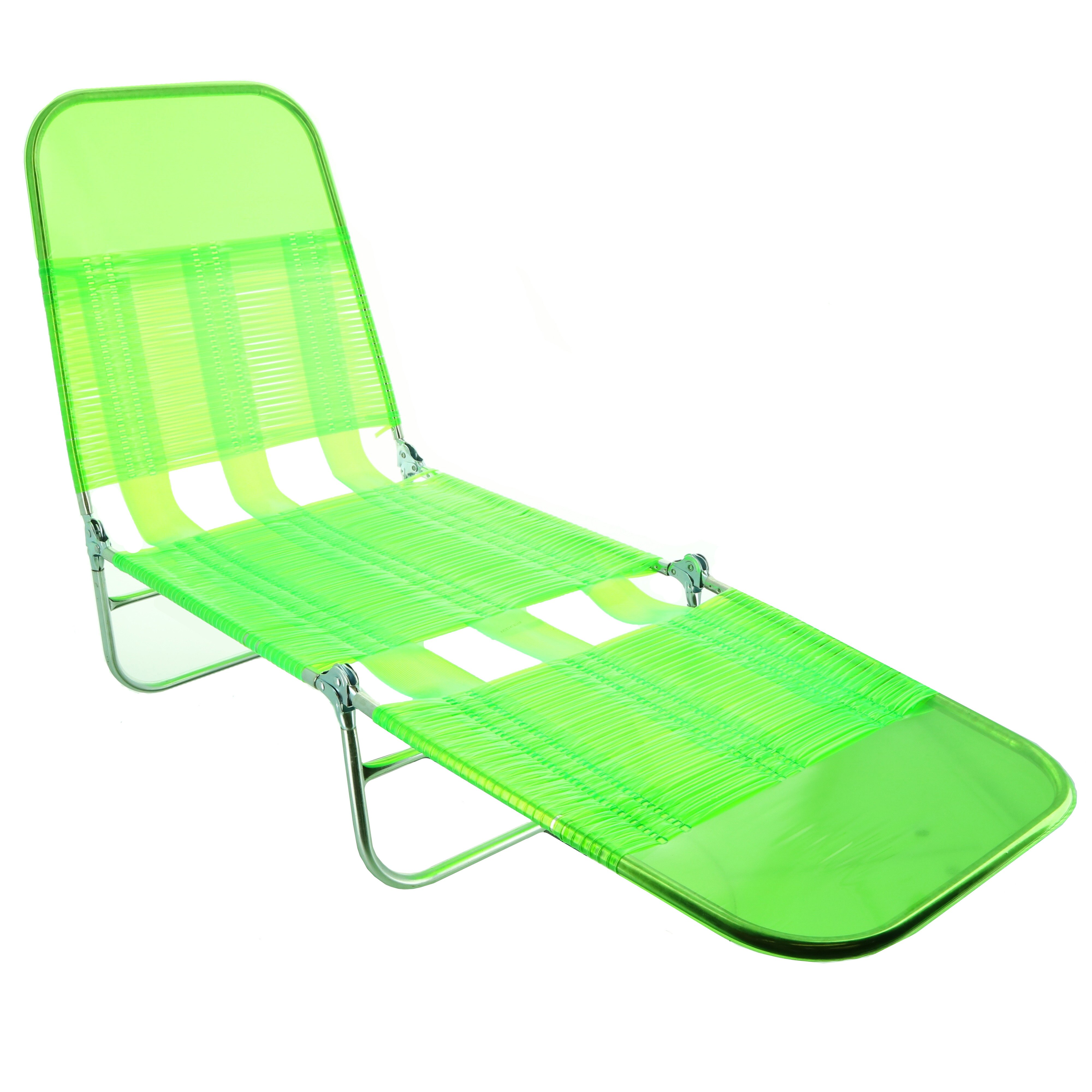 Shin Crest Lime Green Folding Lounge Chair Shop Chairs Seating At H E B
