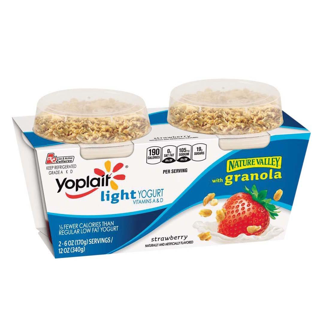 Yoplait Light Strawberry Yogurt with