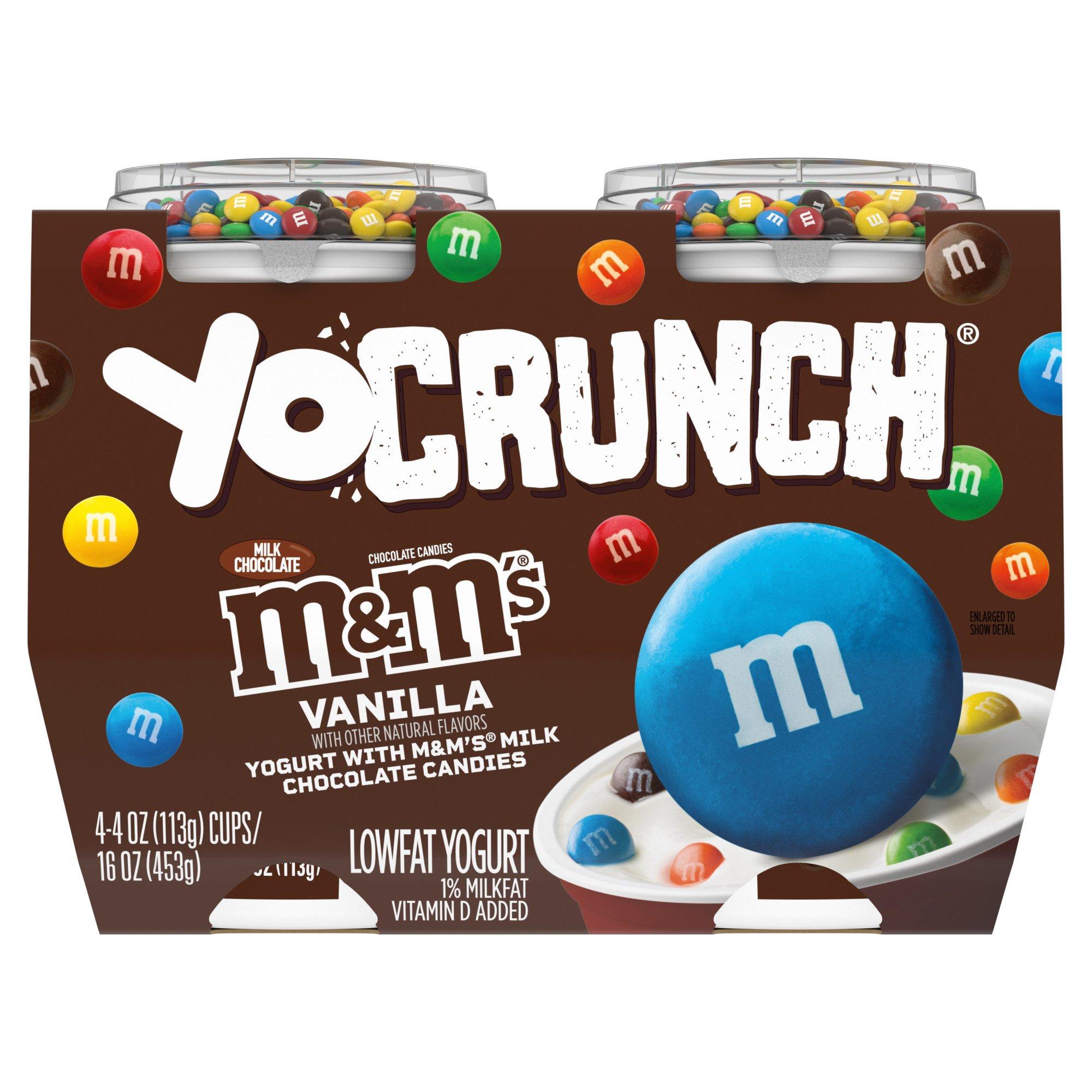 YoCrunch Low-Fat Vanilla Yogurt with