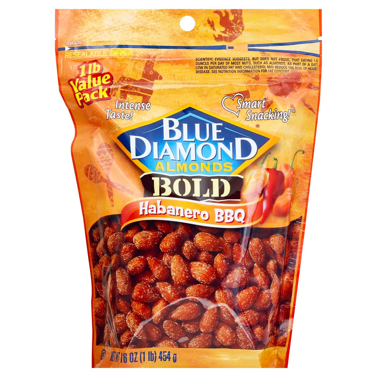 Blue Diamond Bold Habanero BBQ Almonds