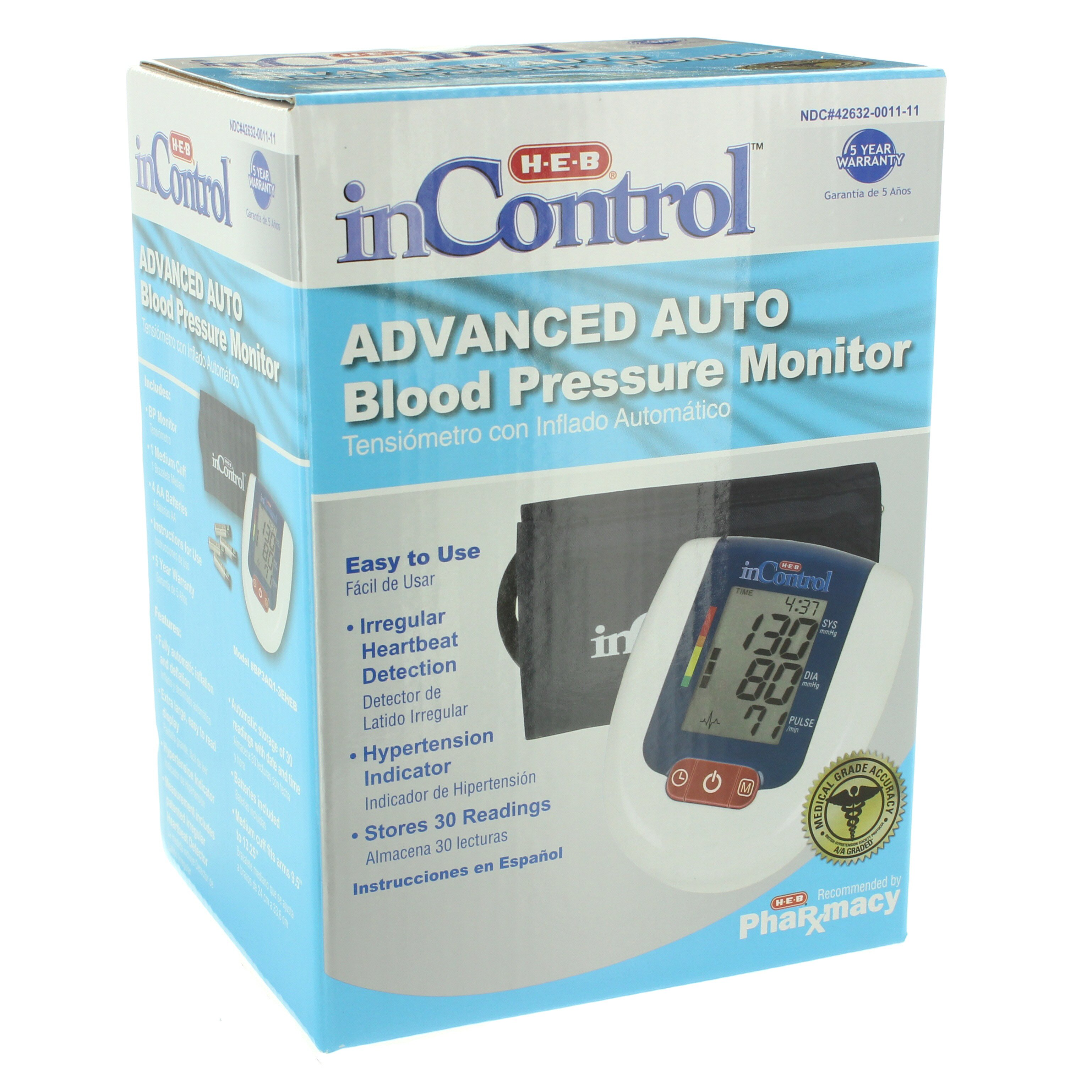 Heb Incontrol Fully Automatic Blood Pressure Monitor Shop
