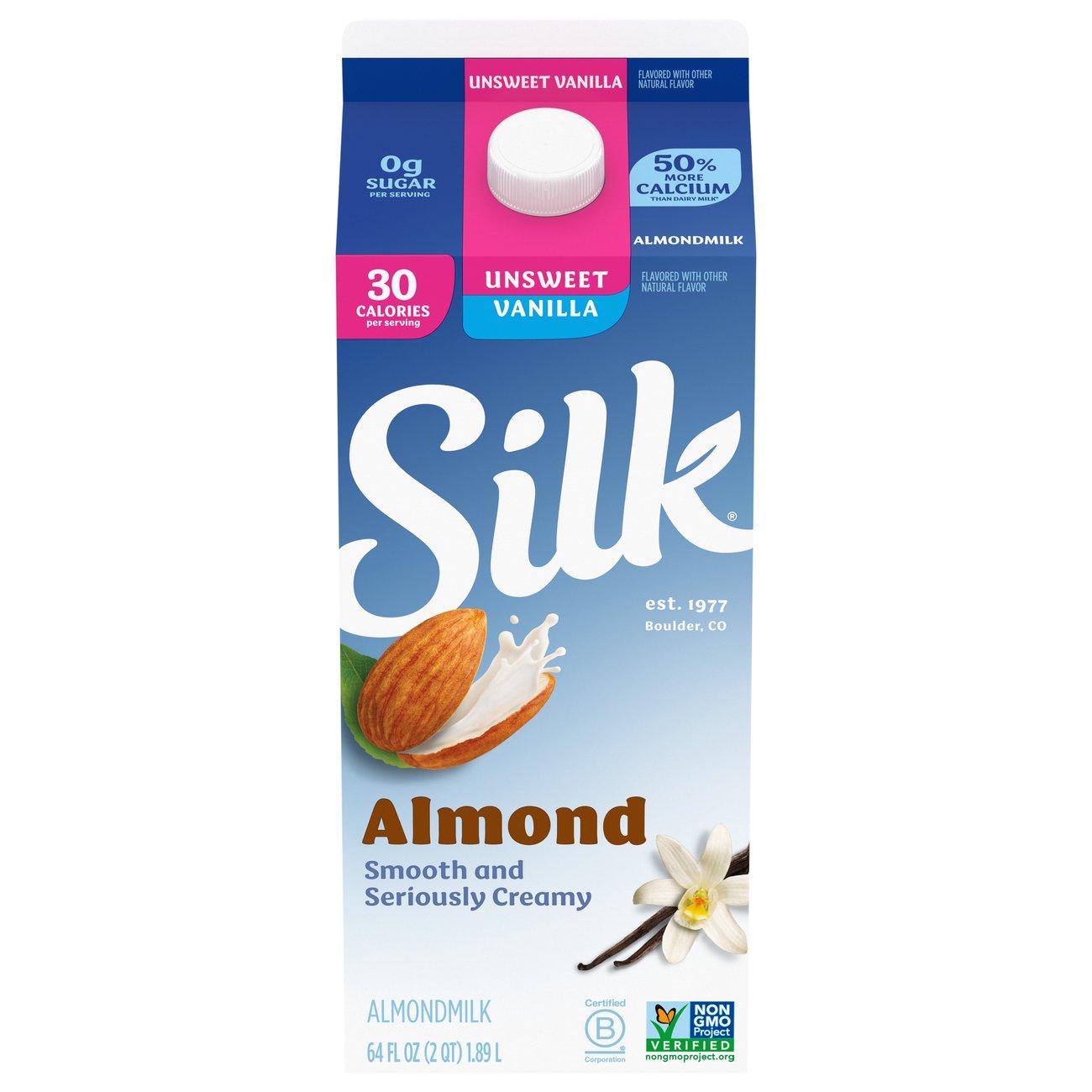Silk Unsweetened Vanilla Almond Milk