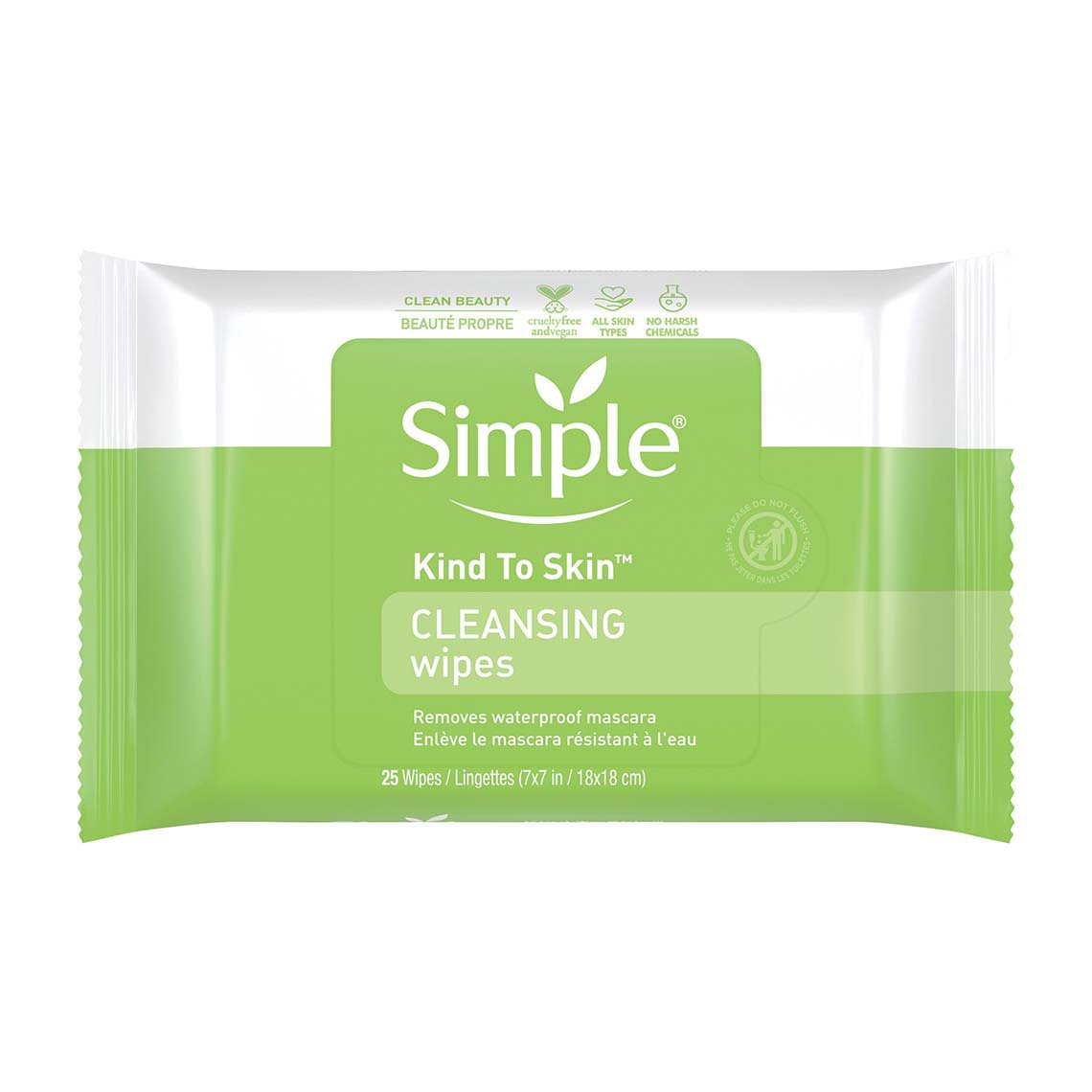 simple face wipes