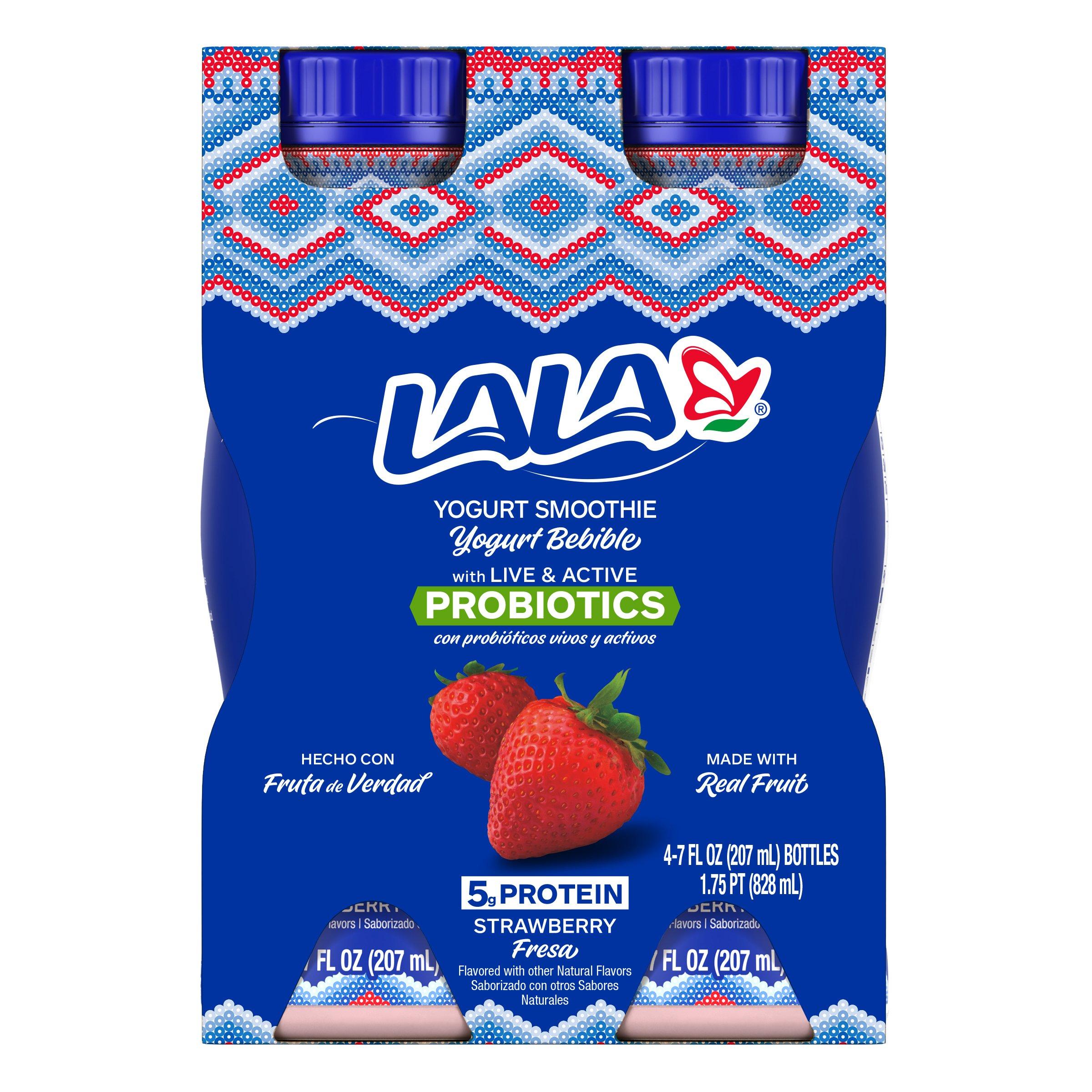 Lala Wild Strawberry Yogurt Smoothie - Shop Yogurt at HEB