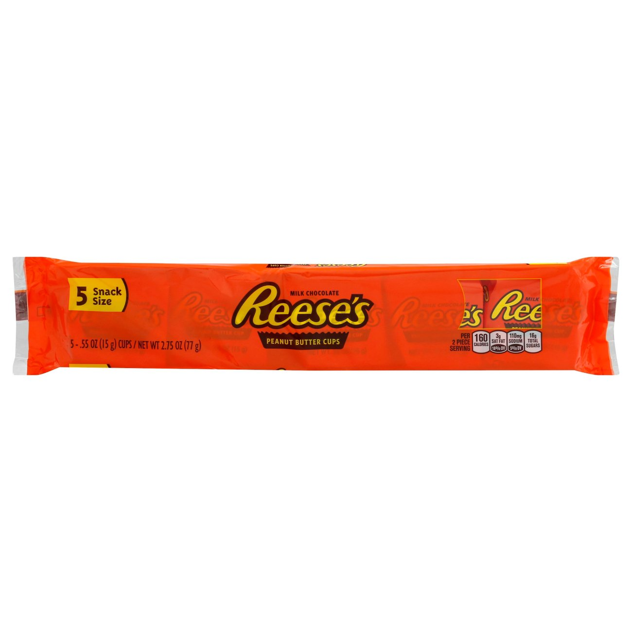 Snack Size Peanut Butter Cups, 5 ct