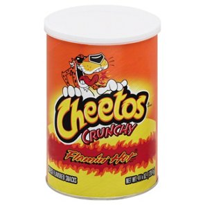 Cheetos Flamin Hot Crunchy Cheese Snacks