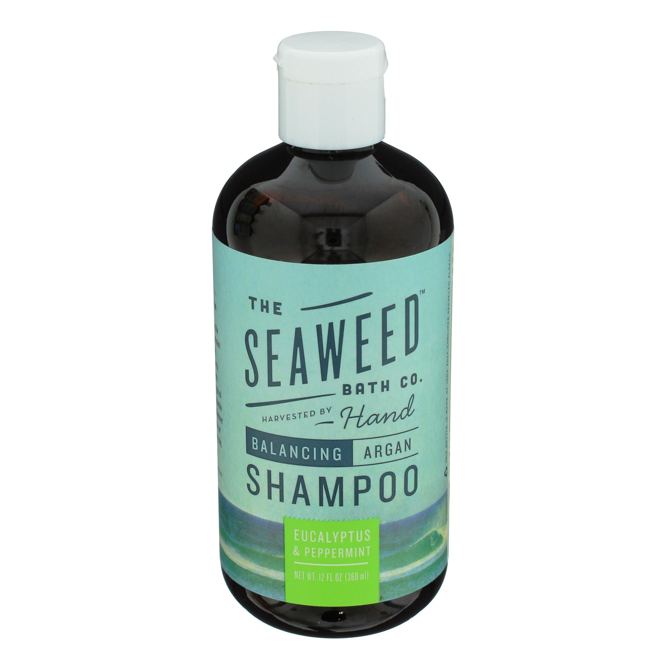 The Seaweed Bath Co Balancing Eucalyptus Peppermint Shampoo Shop Shampoo Conditioner At H E B