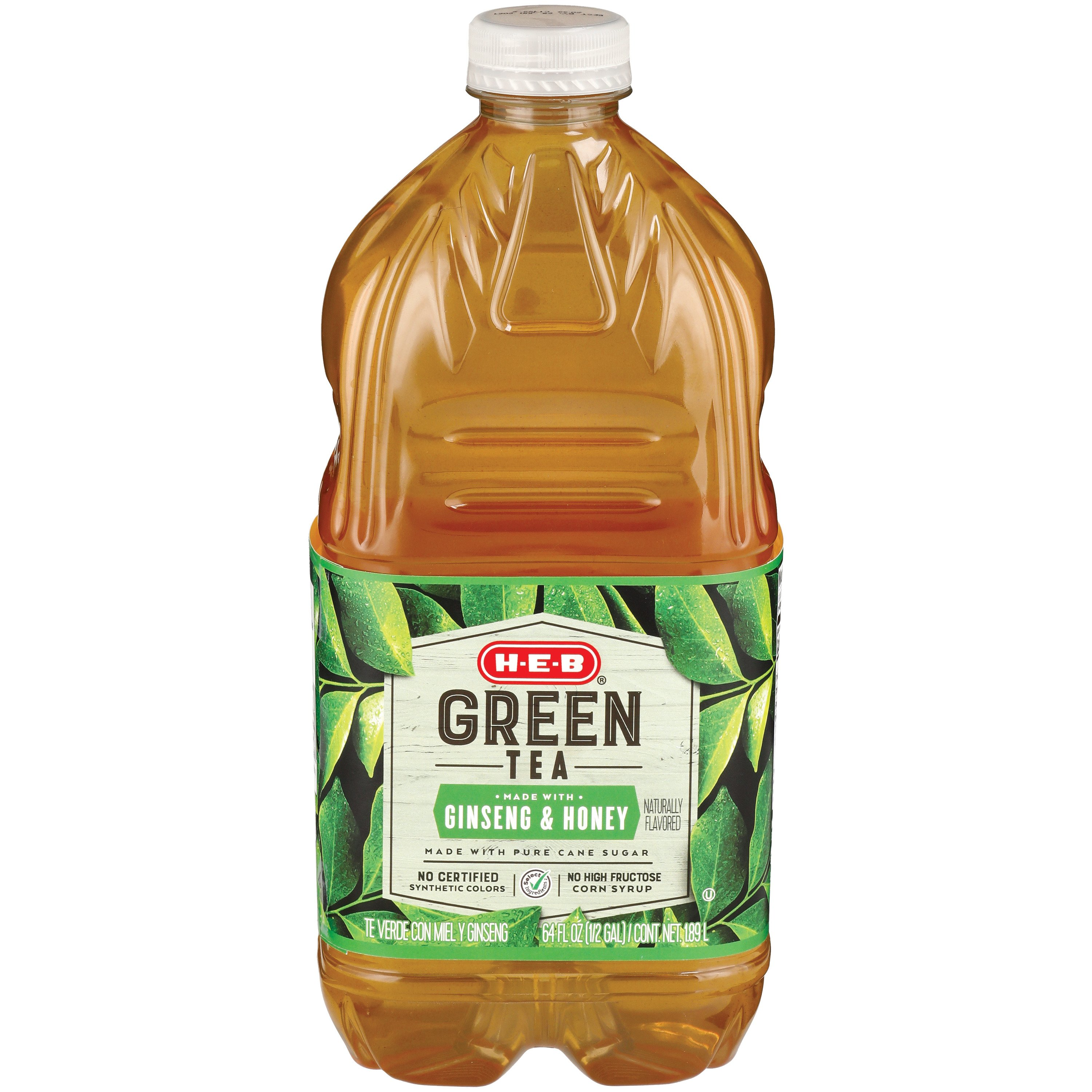 H E B Select Ingredients Green Tea With Ginseng And Honey Shop Tea At H E B