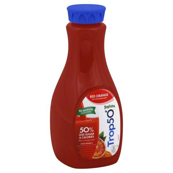 Tropicana Trop50 Red Orange Juice Blend
