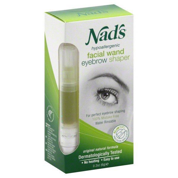 Nads Facial Wand Eyebrow Shaper Shop Hair Removal At Heb