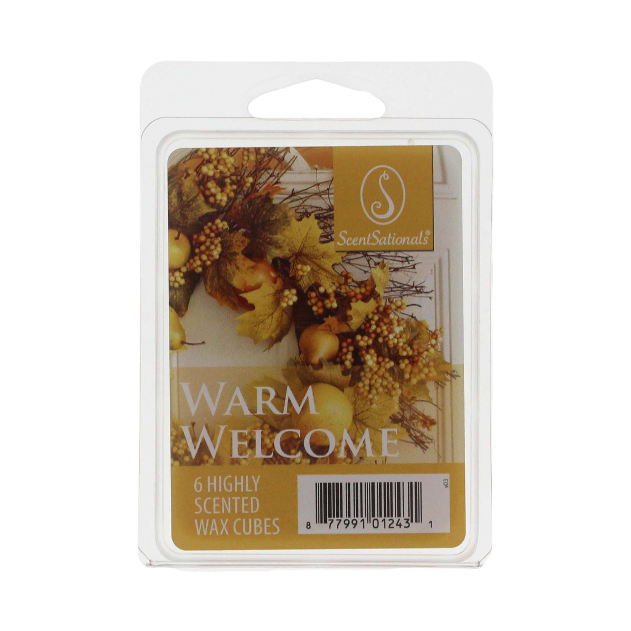 Scentsationals Warm Welcome Scented Wax Cubes Shop Scented Oils Wax At H E B