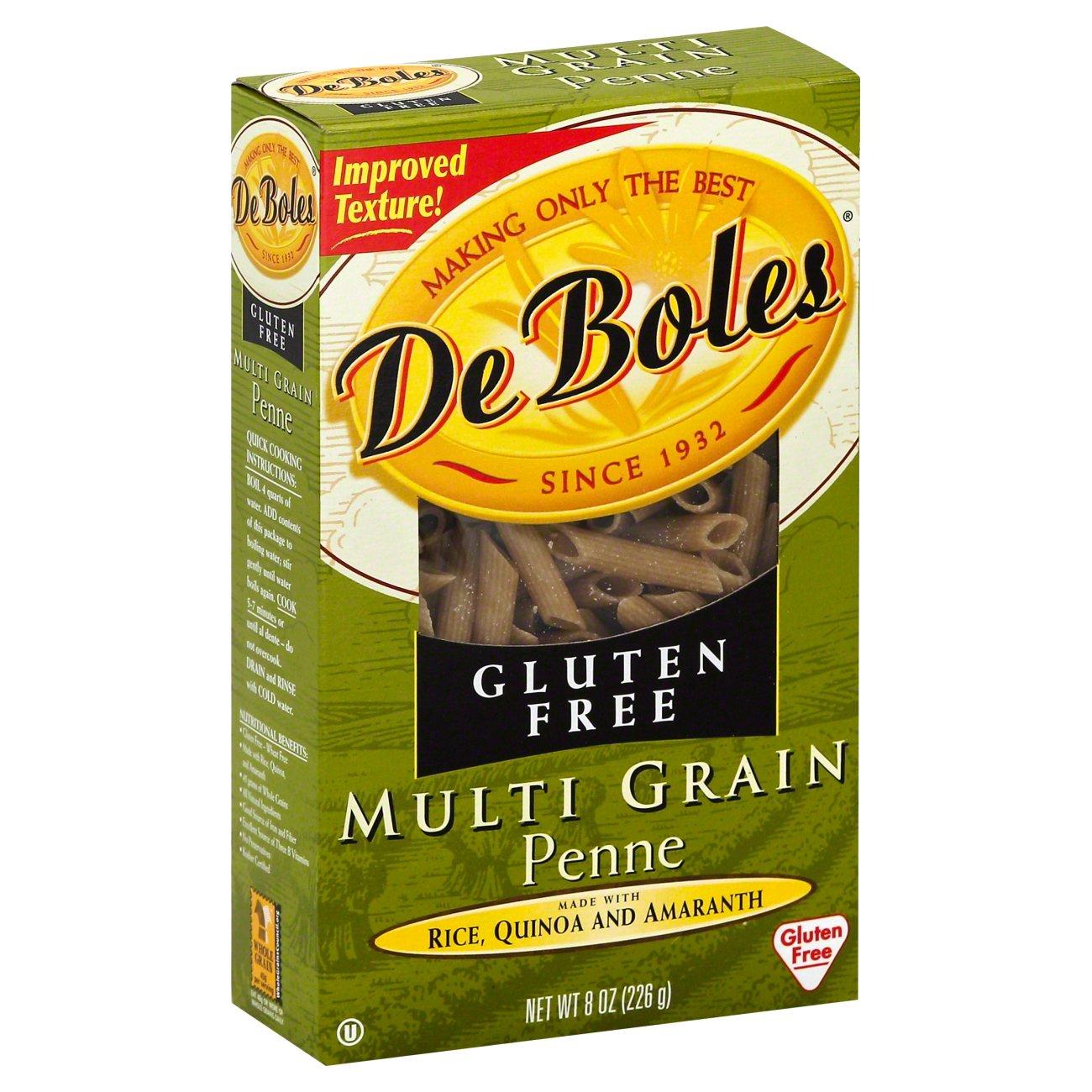 DeBoles Gluten Free Multigrain Penne - Shop Pasta at H-E-B