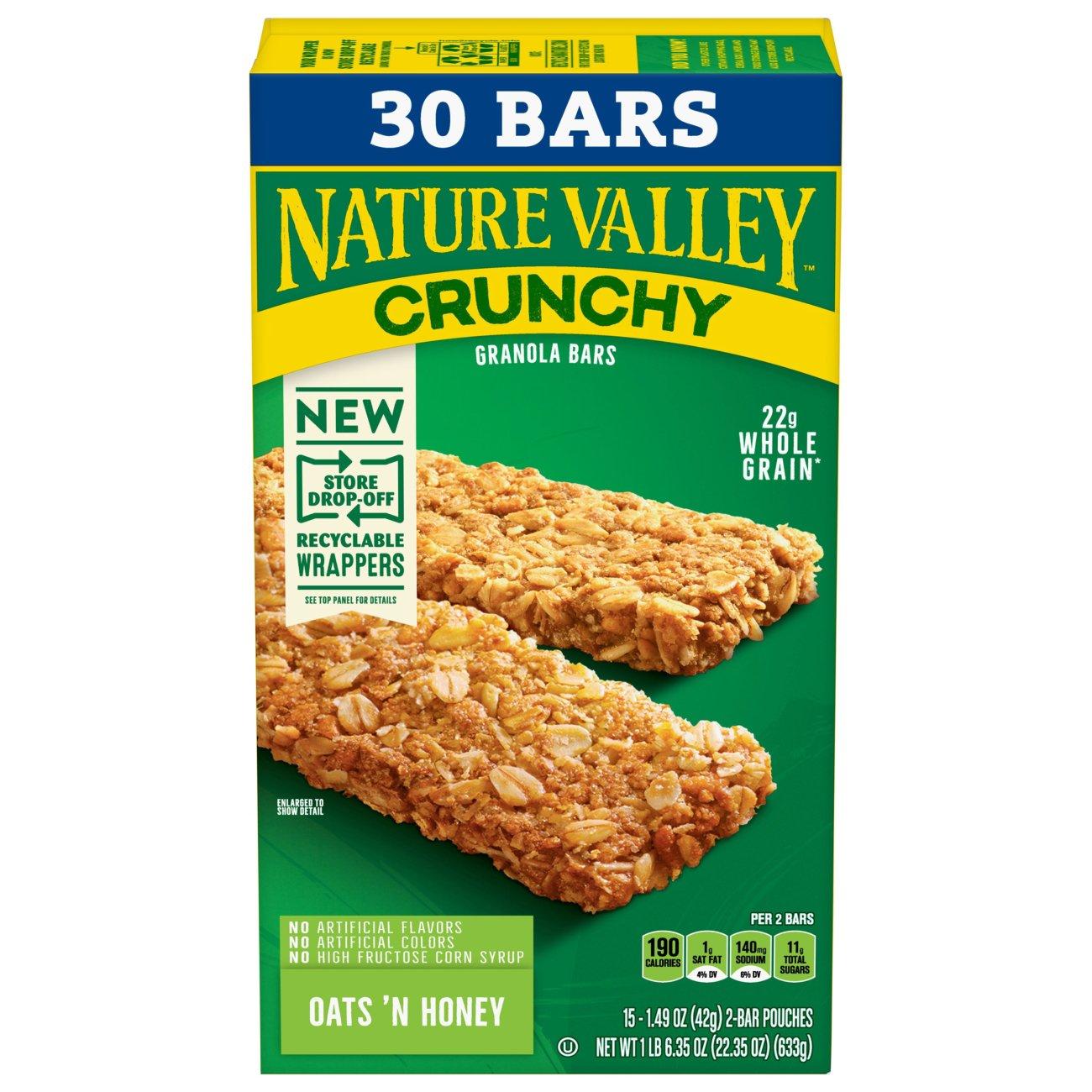 Oats 'n Honey Crunchy Granola Bars