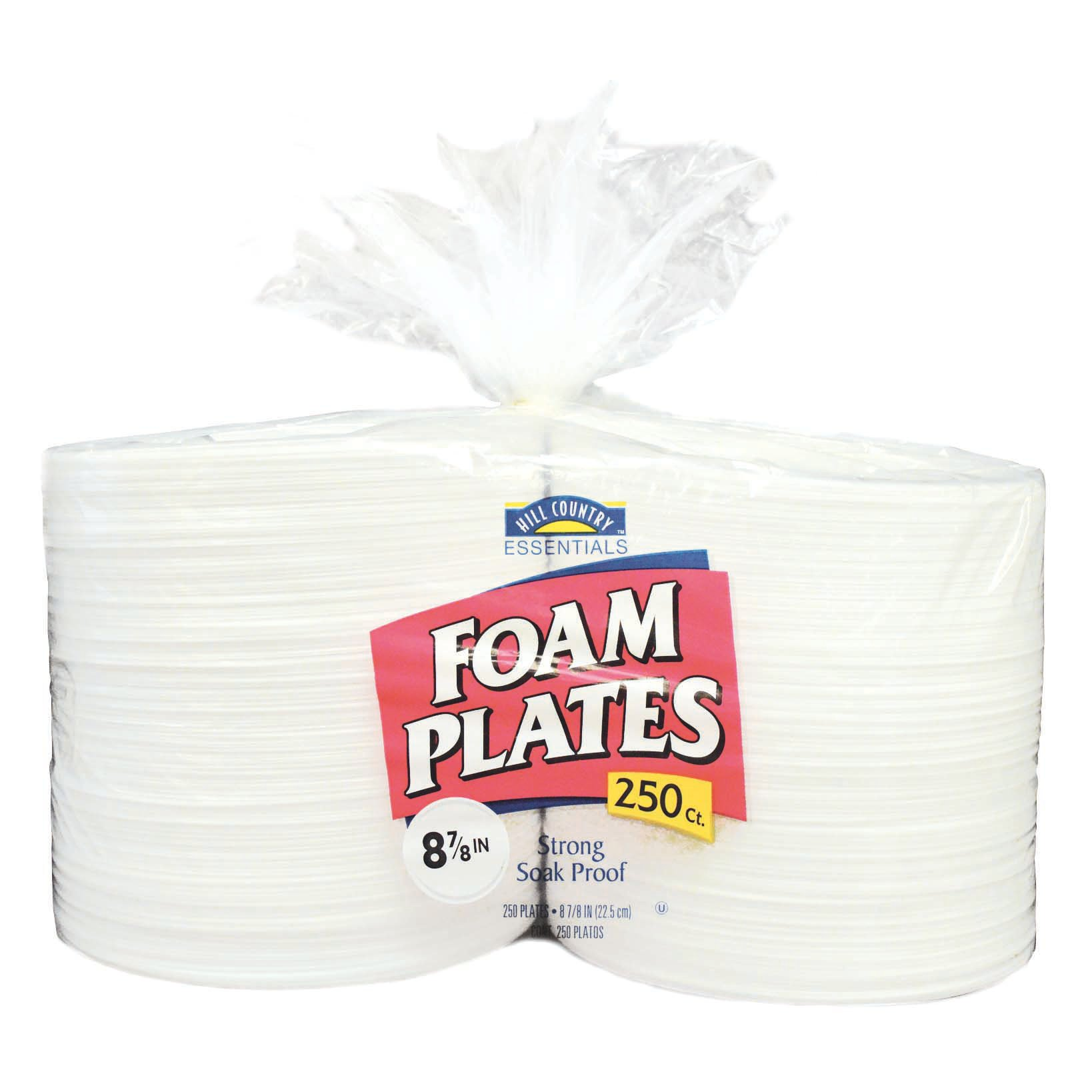 Hill Country Fare 9 Inch Everyday Foam Plates - Shop Disposable Tableware at HEB  sc 1 st  HEB.com & Hill Country Fare 9 Inch Everyday Foam Plates - Shop Disposable ...