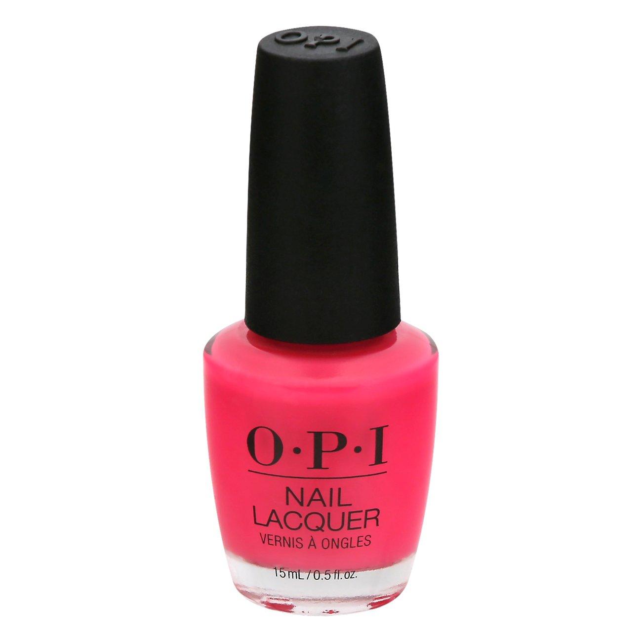 Opi Nail Lacquer Strawberry Margarita Shop Nail Polish At H E B