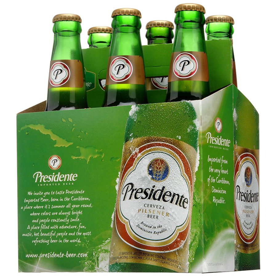 Image result for presidente beer pictures