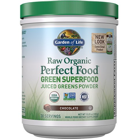 by super oz label food powder formula life grams garden of perfect green