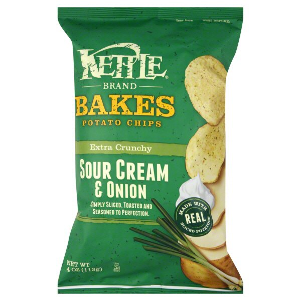 Kettle Bakes Extra Crunchy Sour Cream