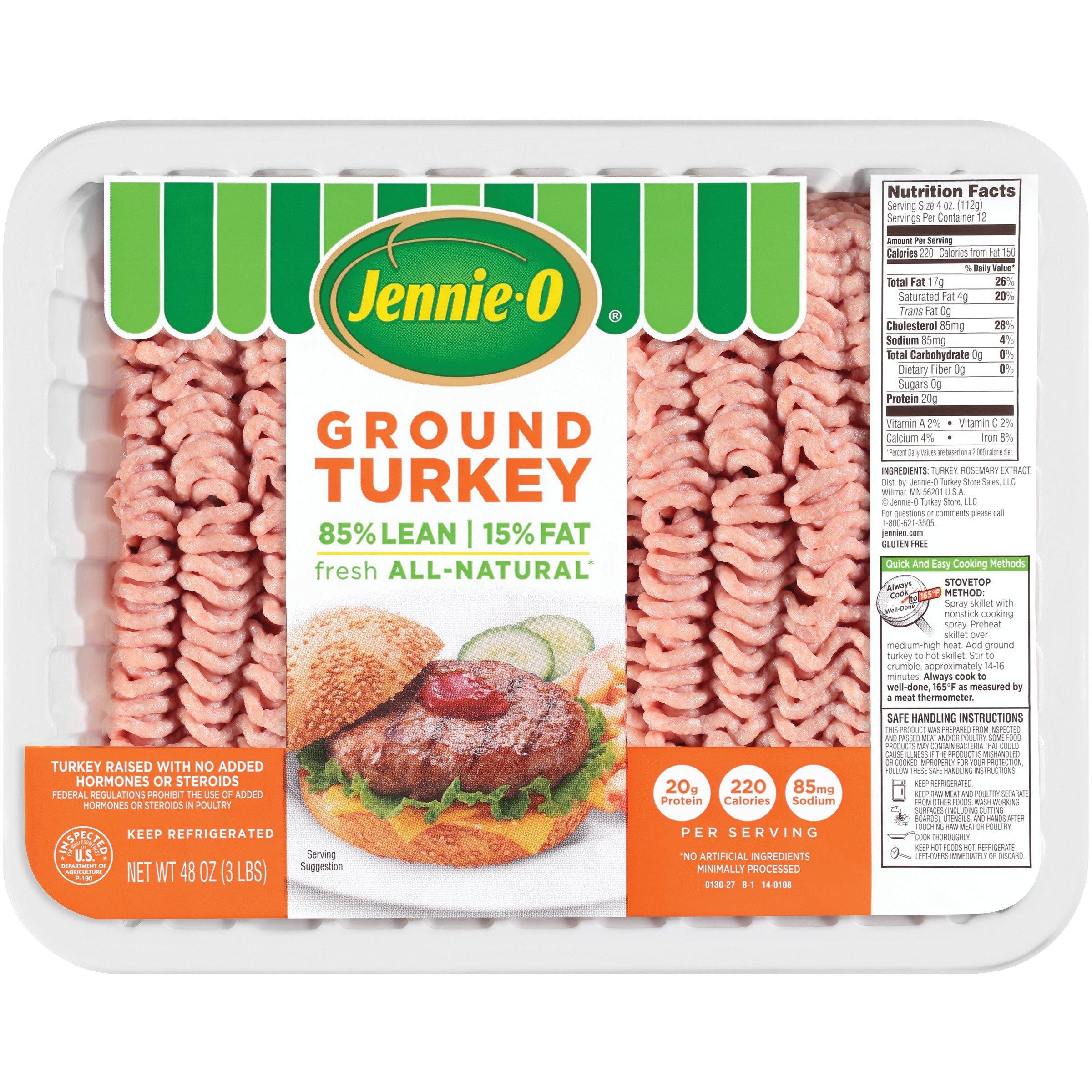 Jennieo Turkey Store 8515 Ground Turkey Shop Turkey At Heb
