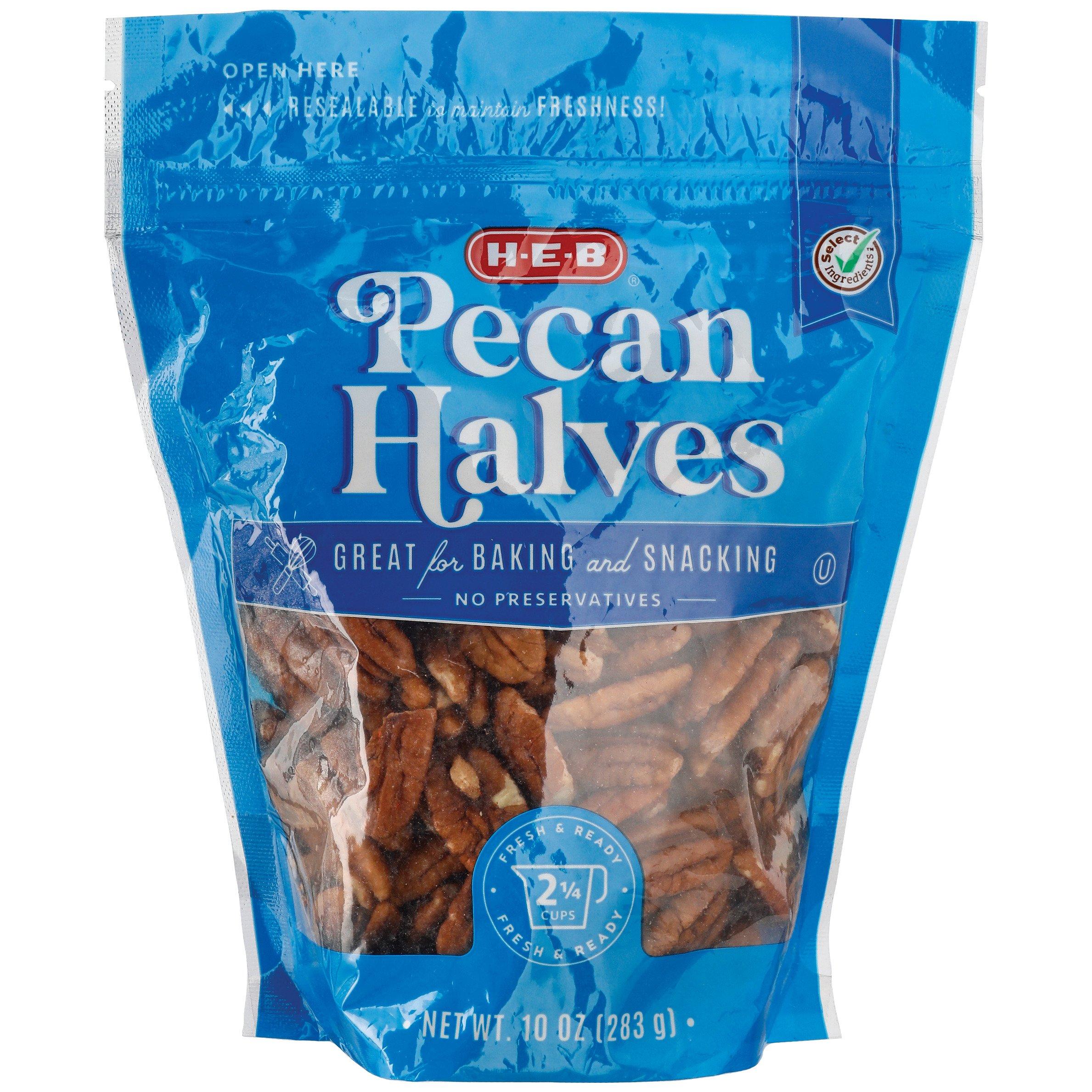 H-E-B Select Ingredients Pecan Halves