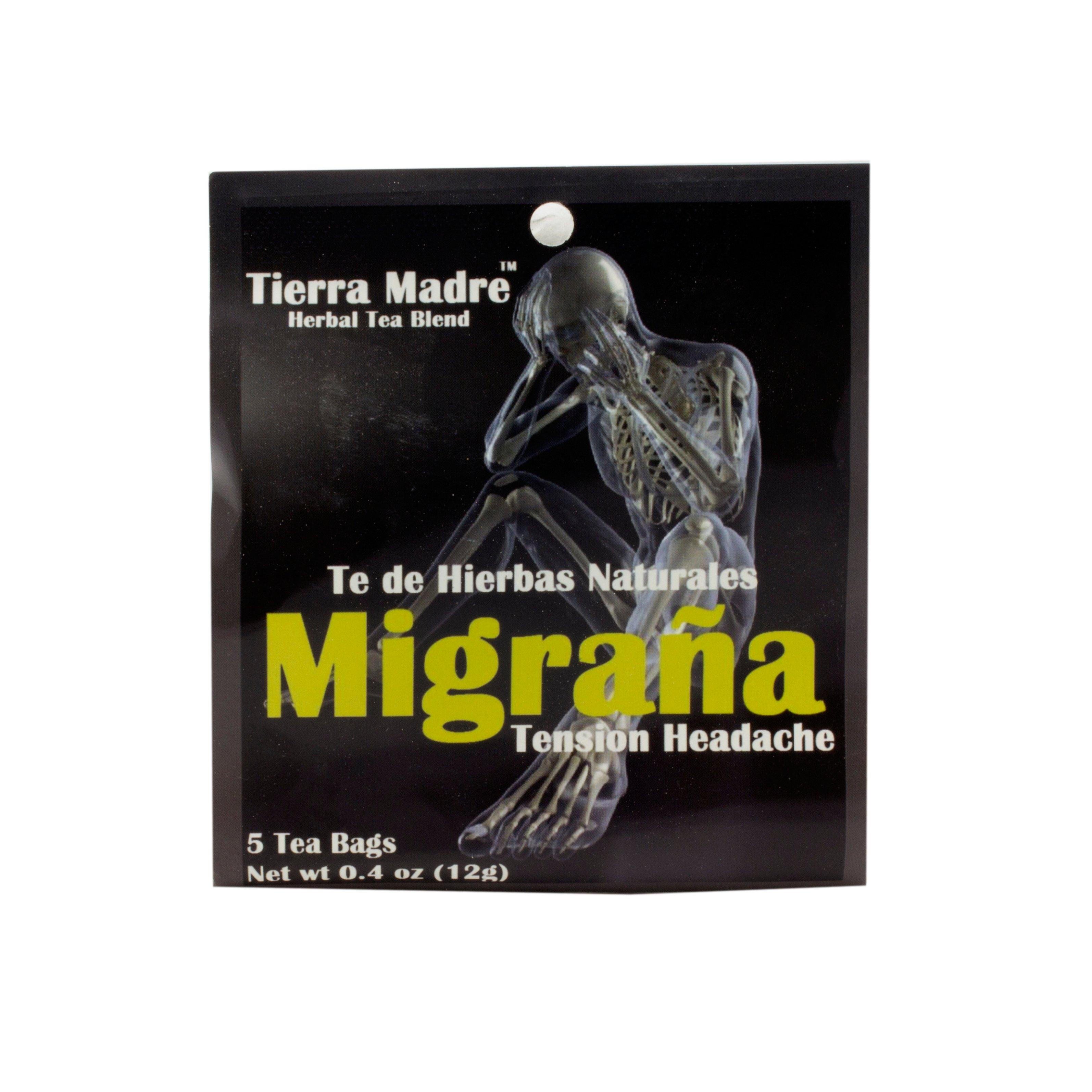 Tierra Madre Slim Tea Reviews - Tierra madre migrana tension headache herbal tea blend shop tea at heb