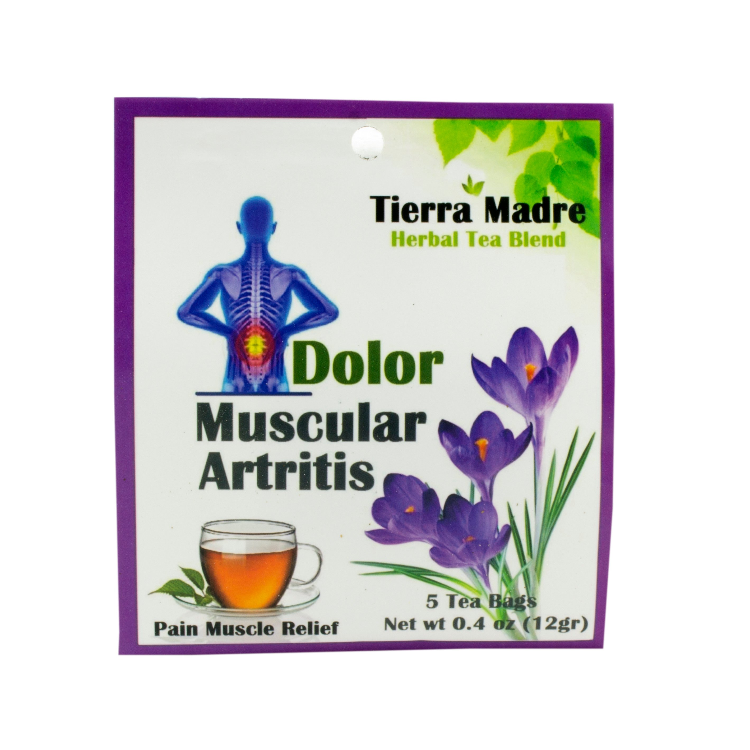 Tierra Madre Slim Tea Reviews - Tierra madre dolor muscular artritis herbal tea blend shop tea at heb