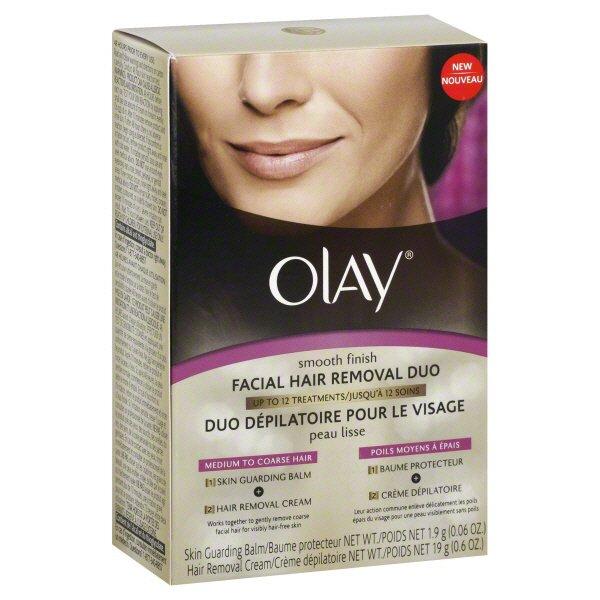 Olay Smooth Finish Facial Hair Removal Duo Shop Depilatories