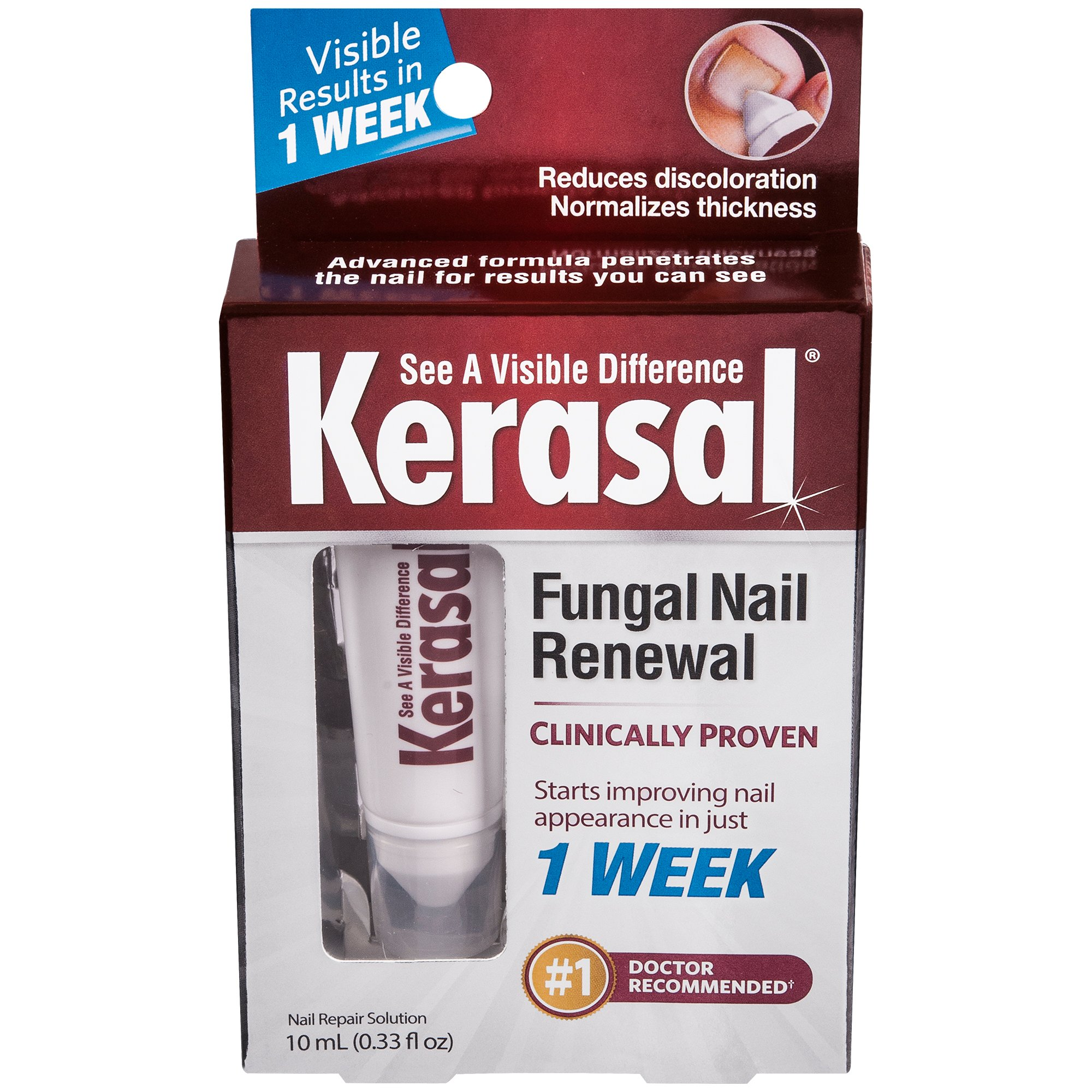 Kerasal Advanced Formula Fungal Nail Renewal Treatment - Shop Foot ...