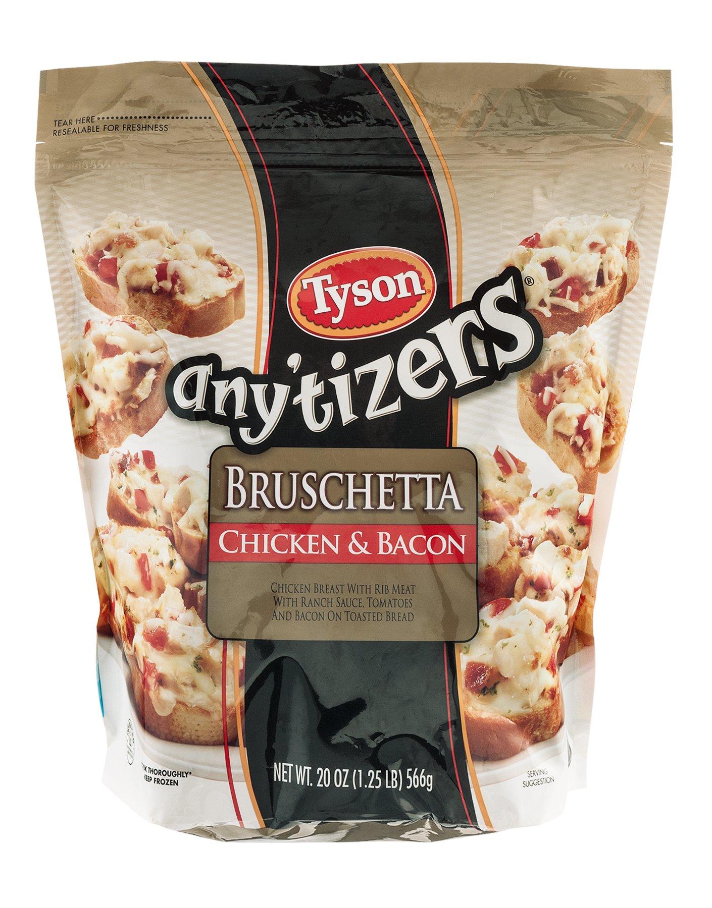 Tyson Chicken Bacon Bruschetta Shop Appetizers At H E B