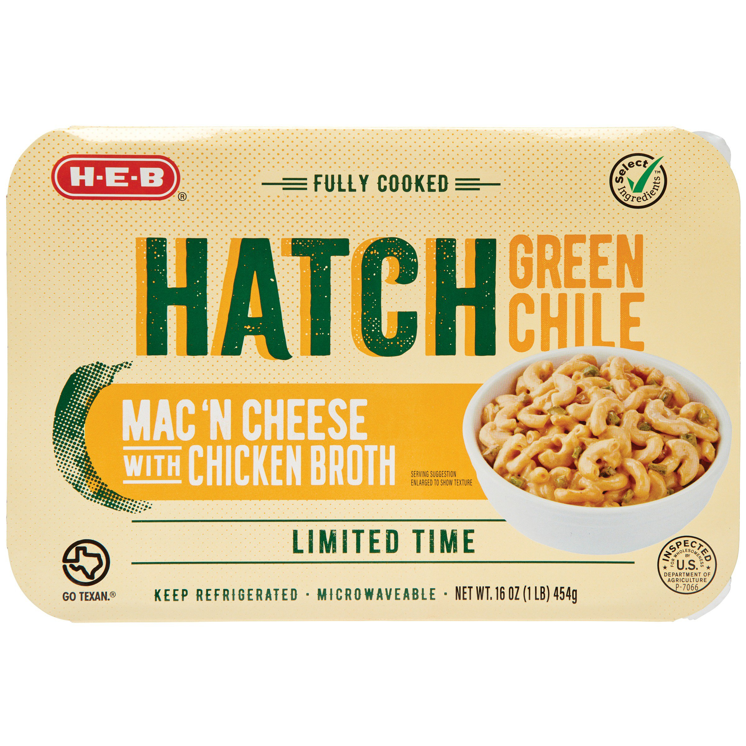 h u2011e u2011b fully cooked hatch green chile mac u0027n cheese u2011 shop dinner