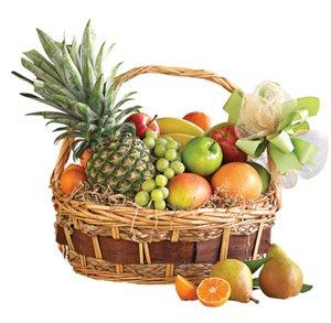 Floral gourmet fruit basket shop just because at heb negle Images