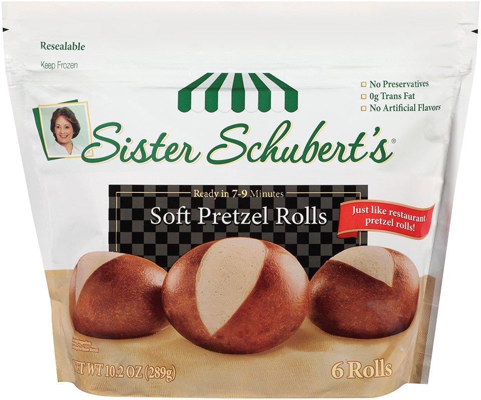 Sister Schubert S Soft Pretzel Rolls Shop Bread At H E B