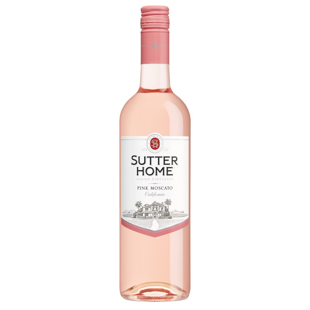 Sutter Home Family Vineyards Pink Moscato