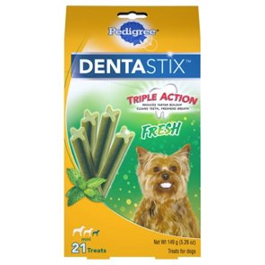 Pedigree DentaStix Daily Oral Care For Dogs Shop Dog Treats At HEB - Every day this dog goes shopping all by himself to get treats