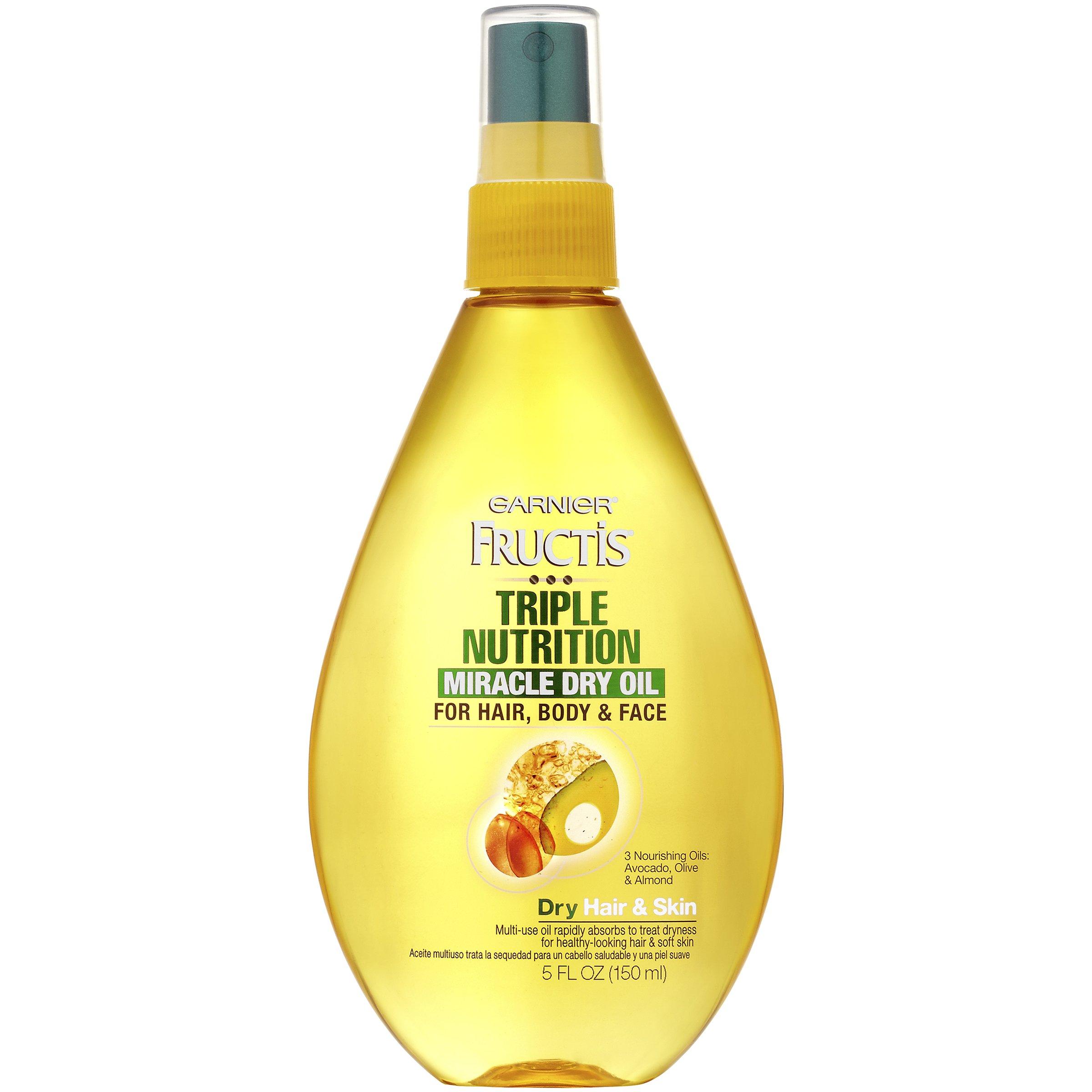 Garnier Fructis Triple Nutrition Miracle Dry Oil For Hair Body Face Shop Garnier Fructis Triple Nutrition Miracle Dry Oil For Hair Body Face Shop Garnier Fructis Triple Nutrition