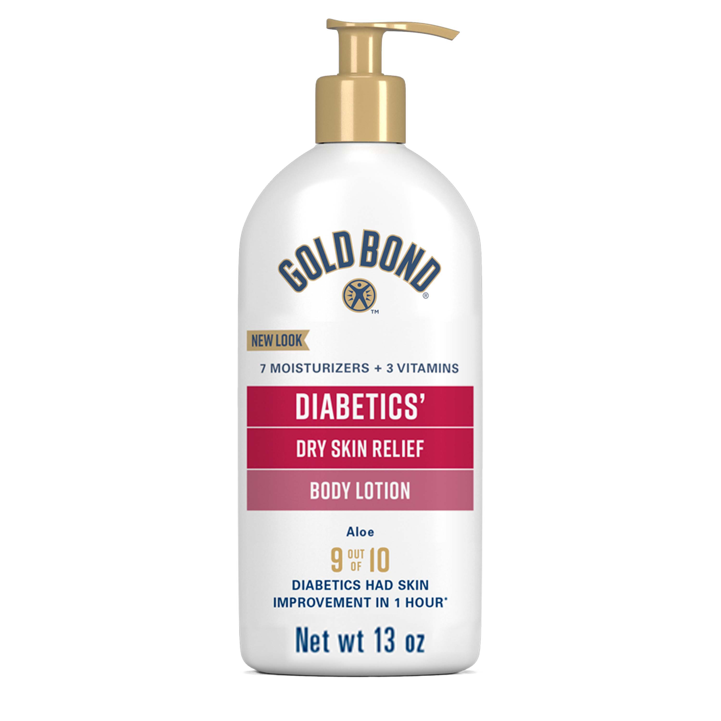 Gold Bond Diabetics Dry Skin Relief Hydrating Lotion Shop