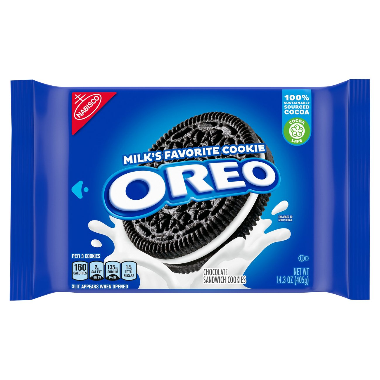 Nabisco Oreo Chocolate Sandwich Cookies - Shop Cookies at H-E-B