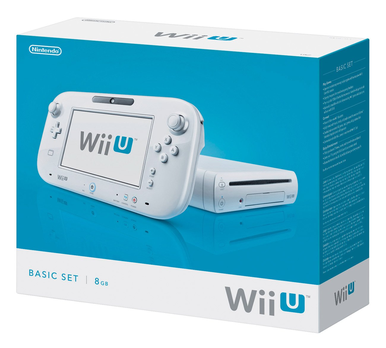 nintendo wii u white console shop nintendo at heb
