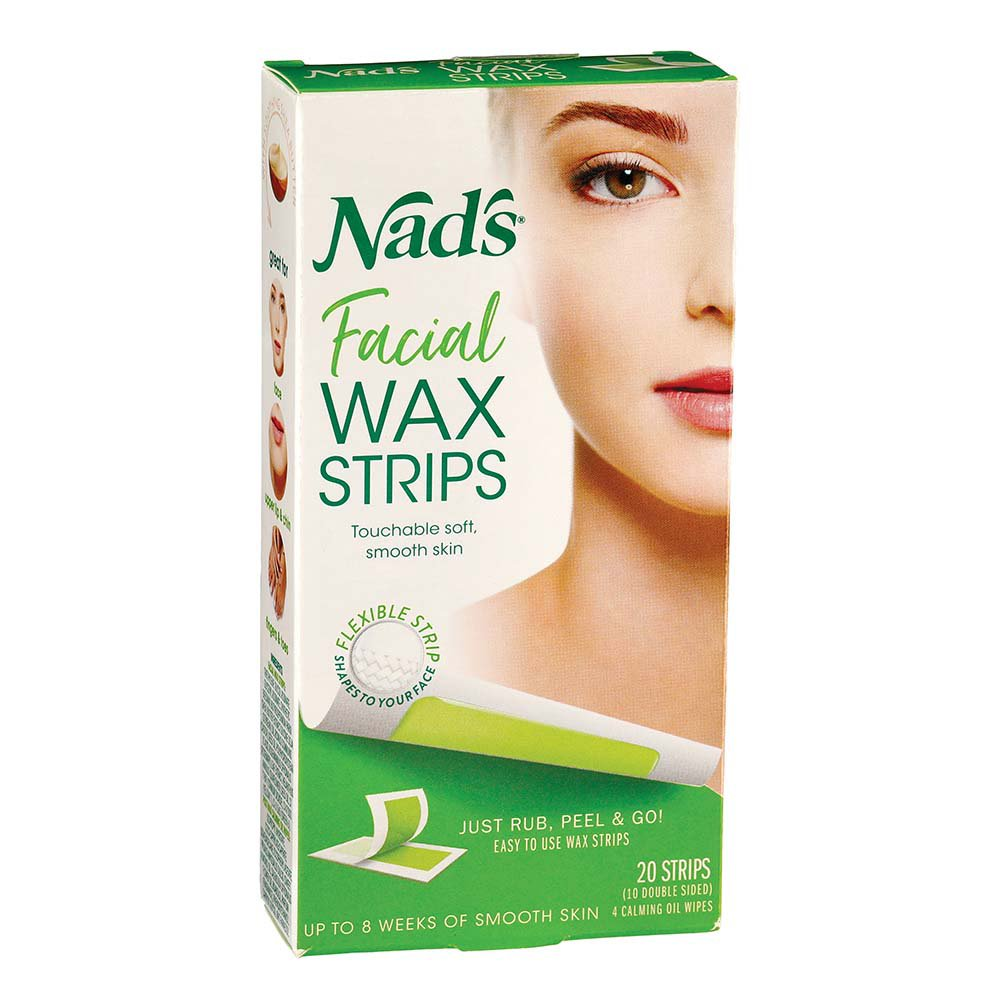 Nad S Facial Wax Strips Shop Depilatories Wax At H E B