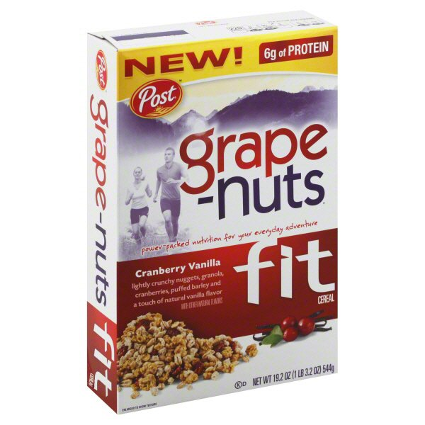 Post Grape-Nuts Fit Cranberry Vanilla Cereal