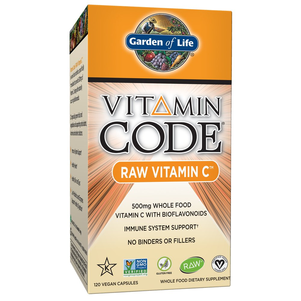 Garden Of Life Vitamin Code Raw Vitamin C Capsules Shop Vitamins A Z At H E B