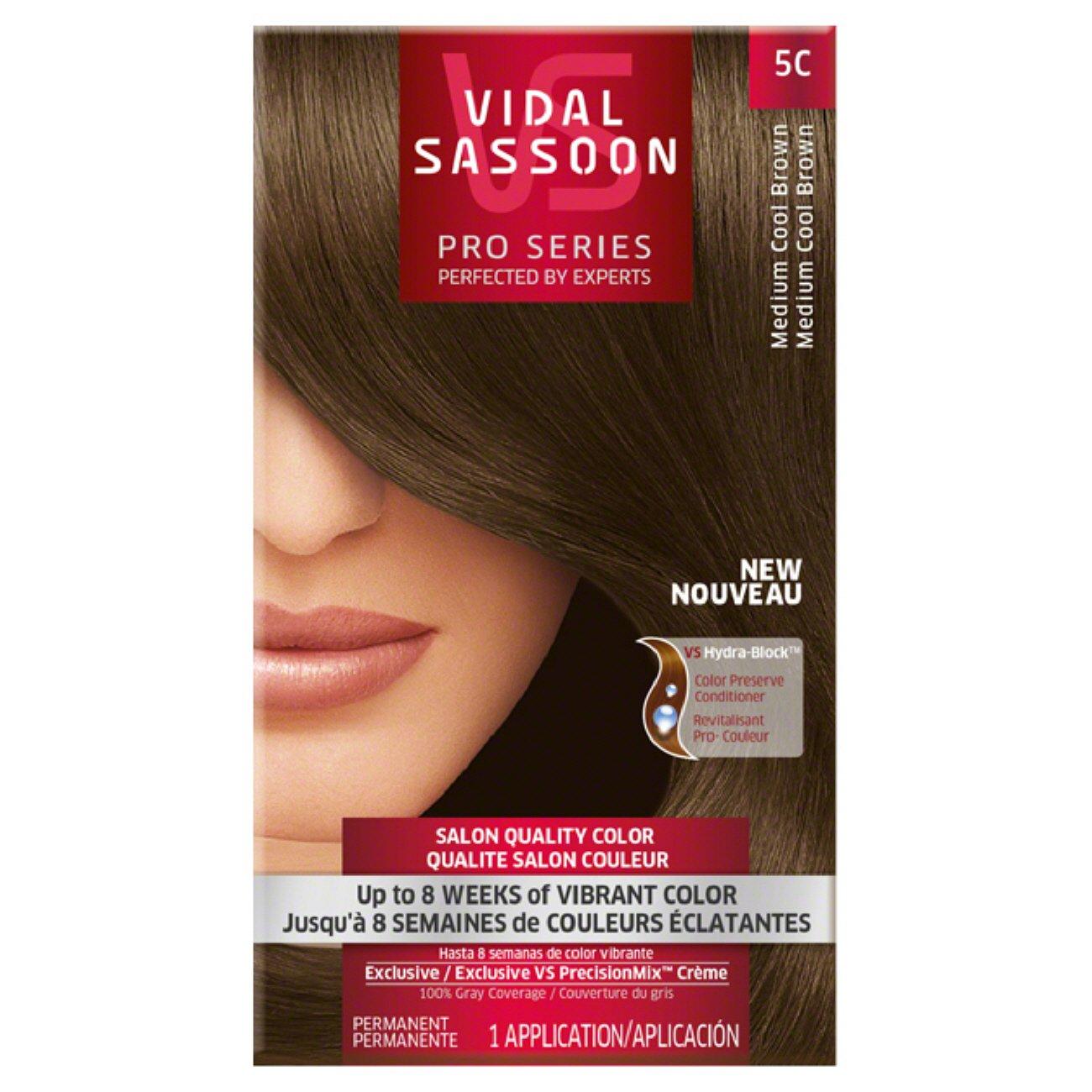 Vidal Sassoon Pro Series 5c Medium Cool Brown Hair Color Shop