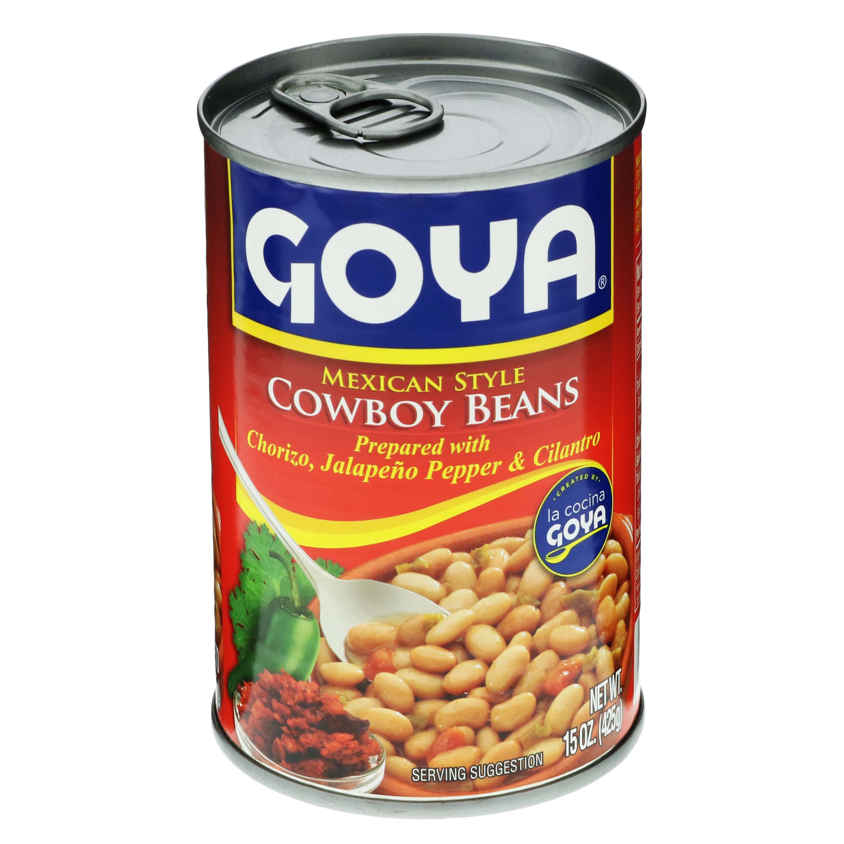 goya mexican style cowboy beans - shop latin american at heb