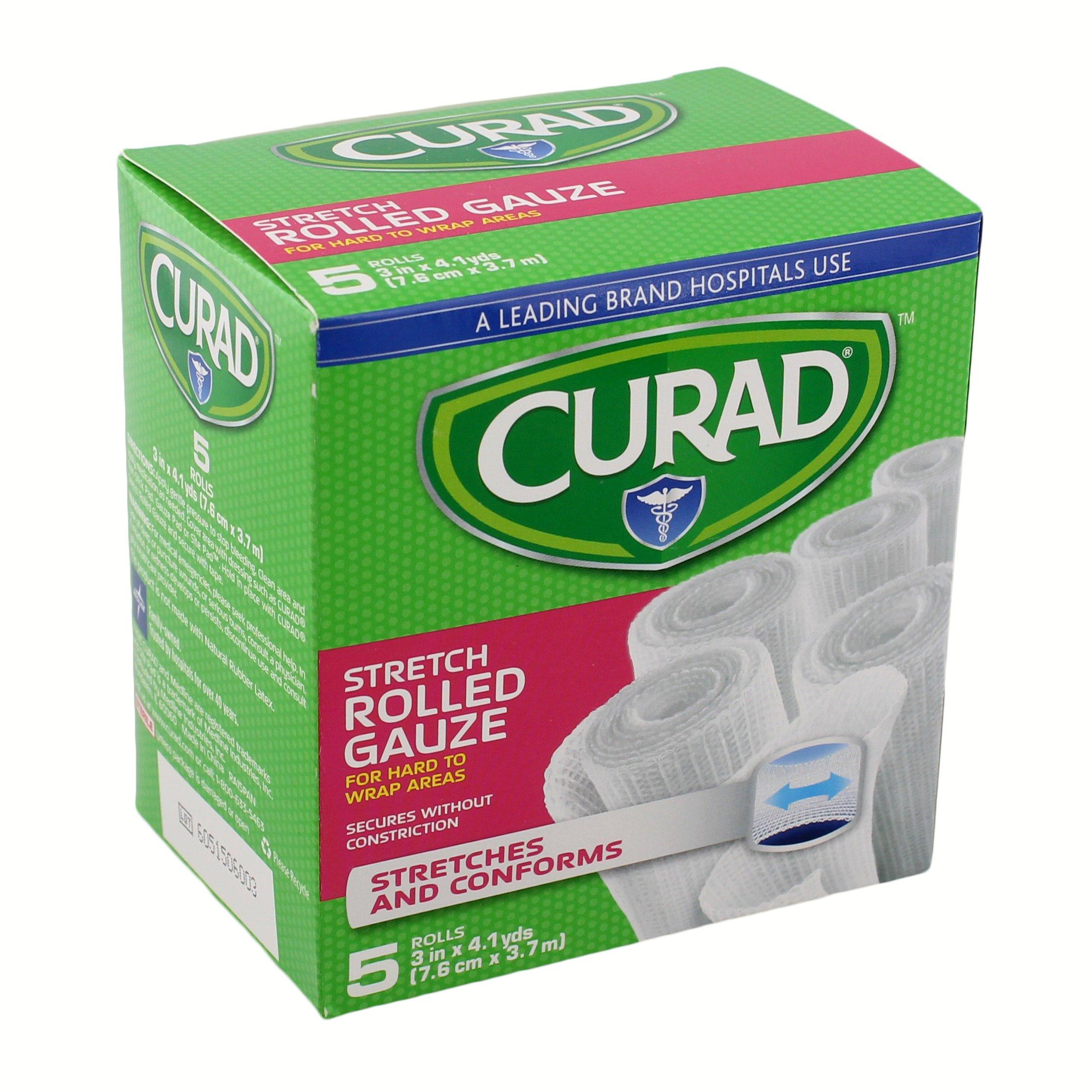 Curad Stretch Rolled Gauze Shop Bandages Gauze At H E B