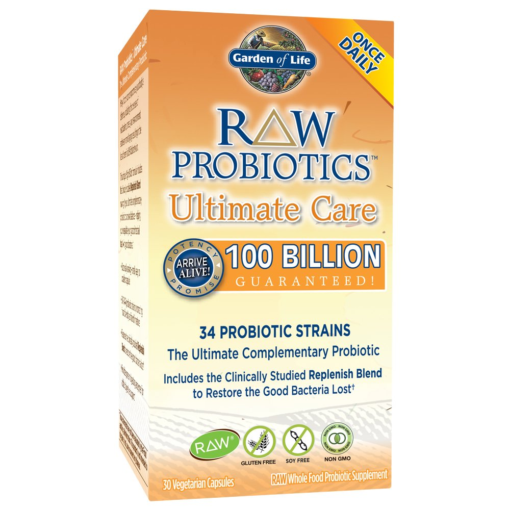 Garden Of Life Raw Probiotics Ultimate Care Vegetarian Capsules 30 Garden Ftempo