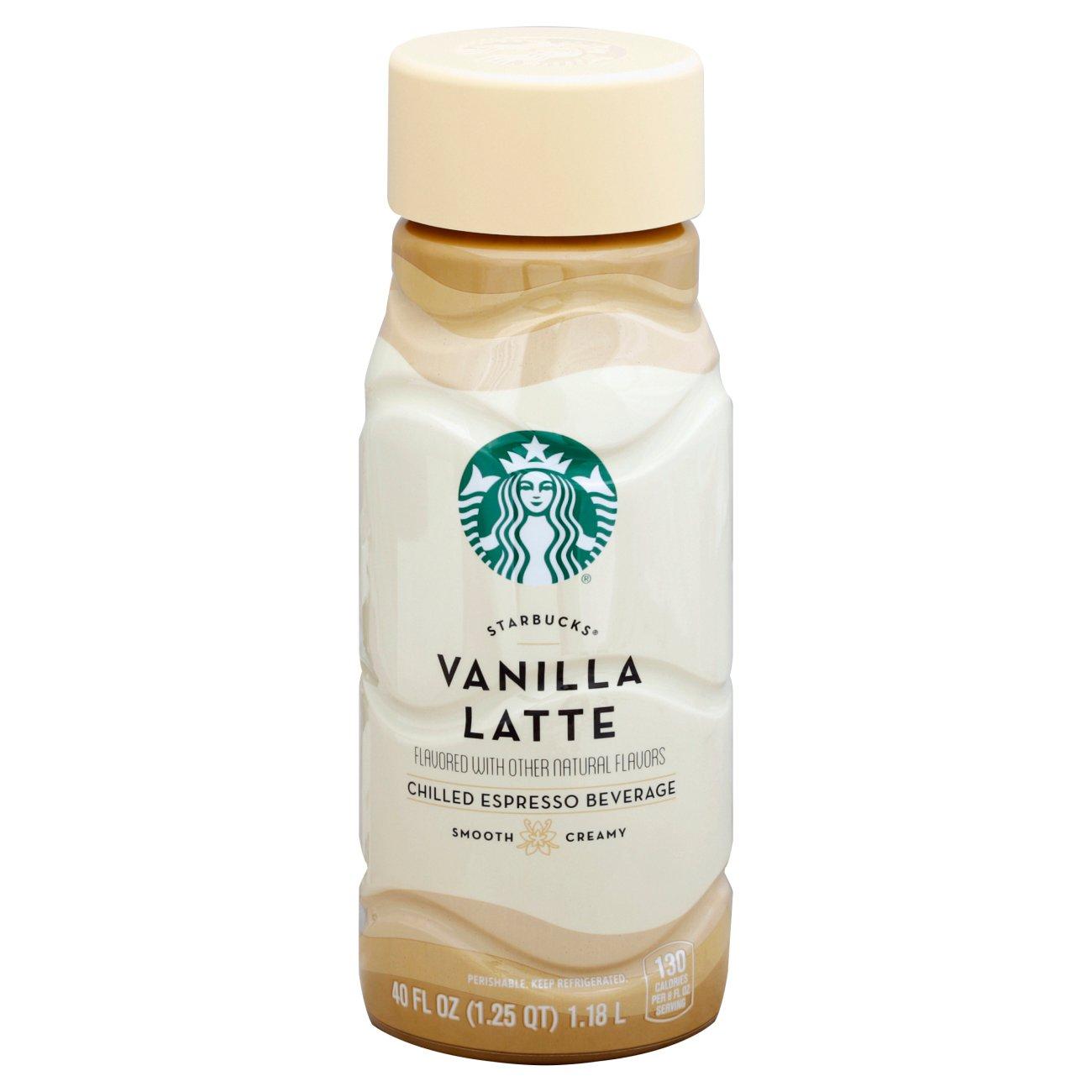 Starbucks Vanilla Latte Chilled
